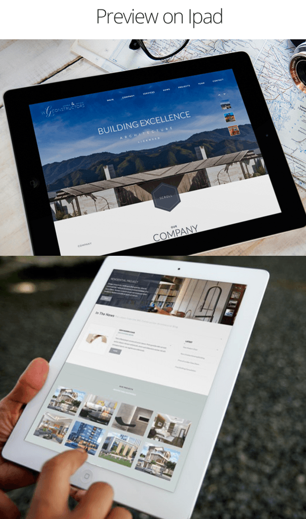 Constructors - Architects & Engineers HTML Theme Preview