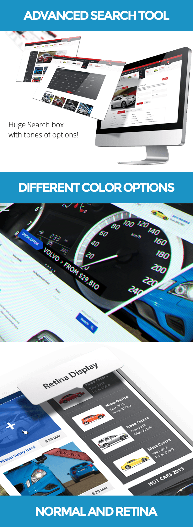 Dynamo - Sell/Buy/Rent Cars Online PSD presentation