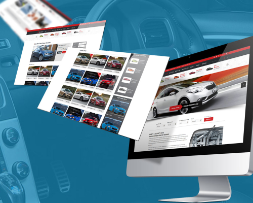Fantastic Automobile & Car Dealer Website Template