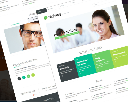 Highway - Creative & Multipurpose Template