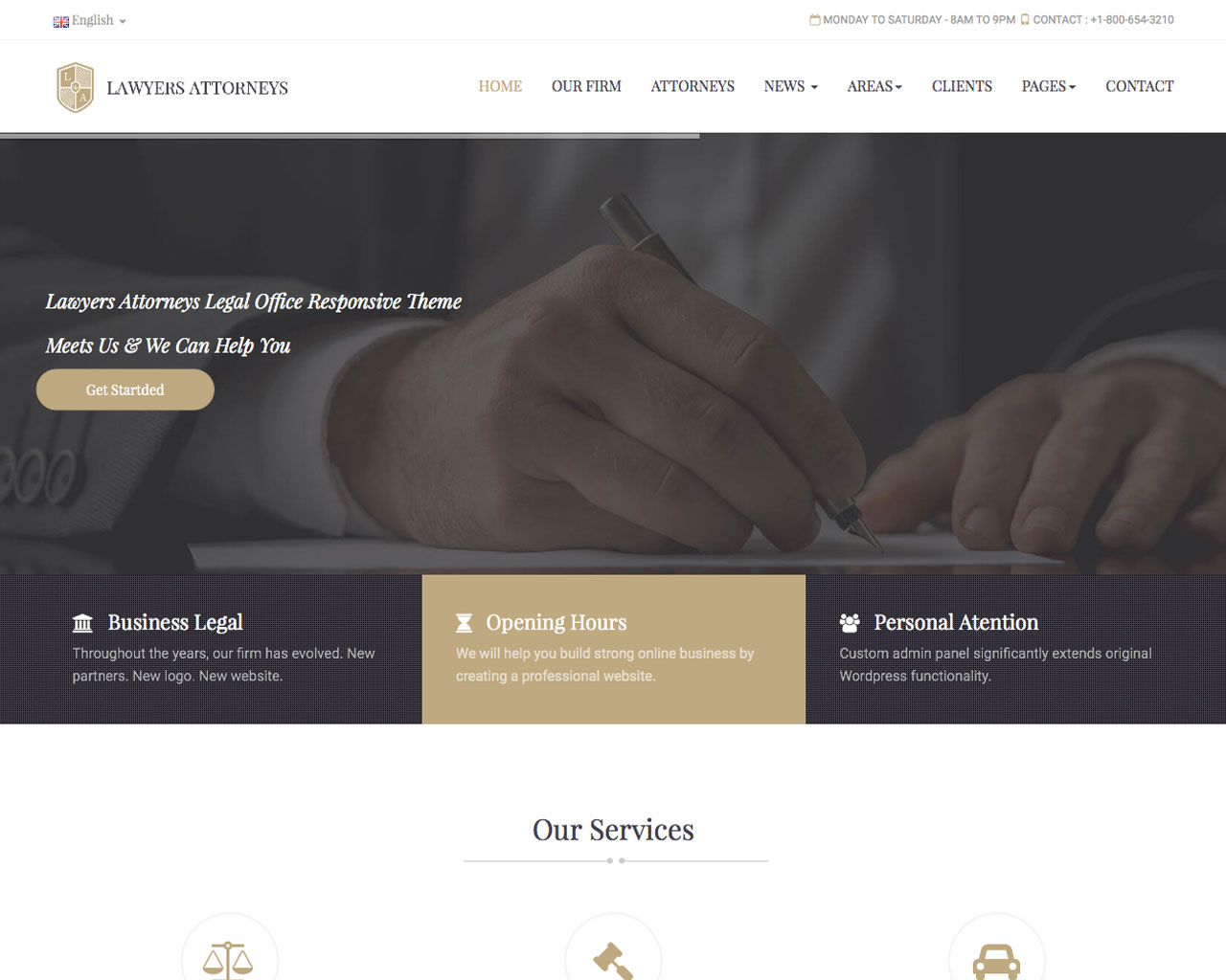 Lawyer Responsive Template